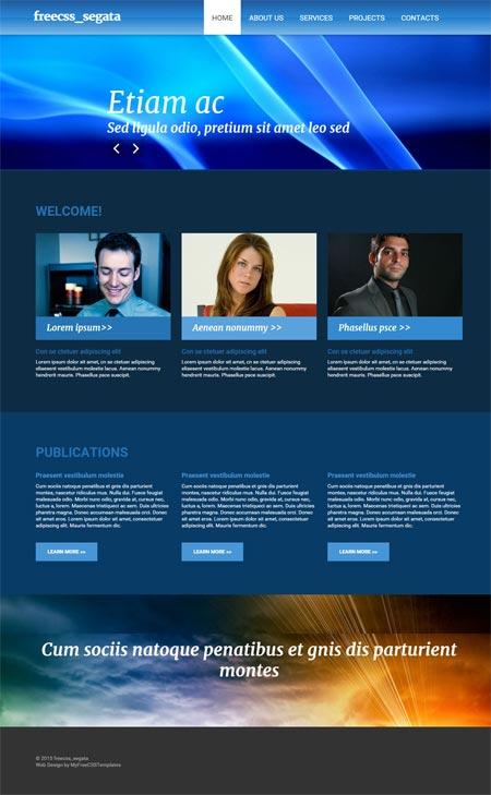Free css templates css templates free website templates name freecsssegata maxwellsz