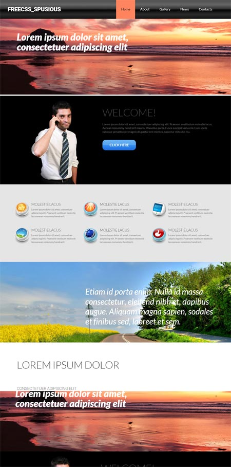 free css templates css templates free website templates